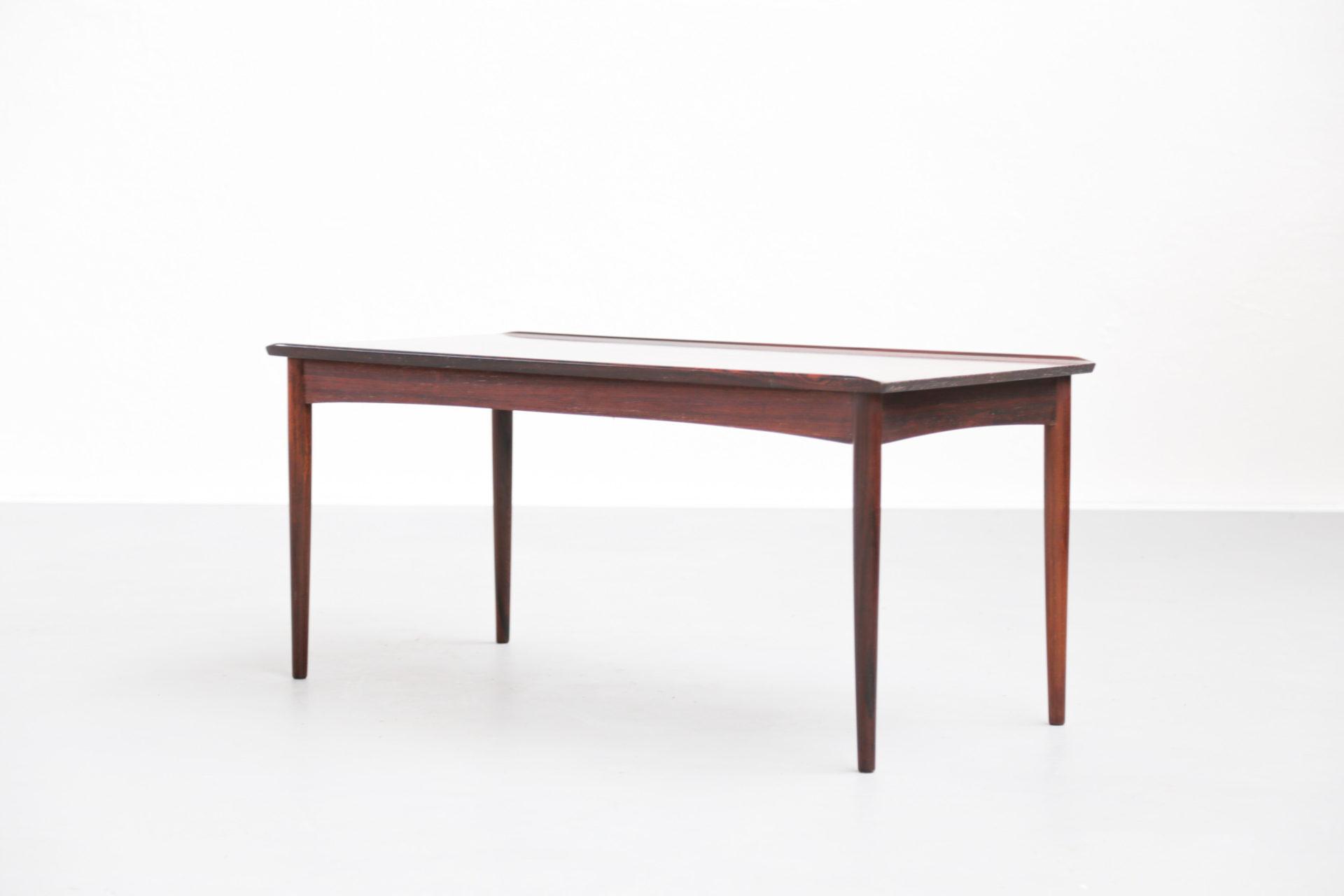 table basse en palissandre de rio