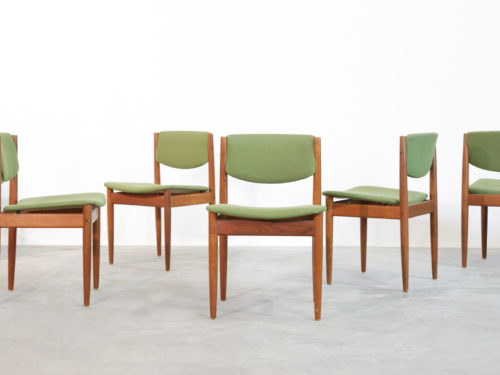 6 chaises finn juhl scandinave danish dining chair (4)