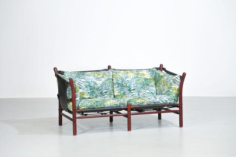 Banquette safari Arne norell fauteuil suedois sofa 16