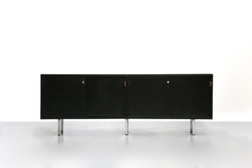 Enfilade Florence Knoll sideboard marbre carrare buffet 1
