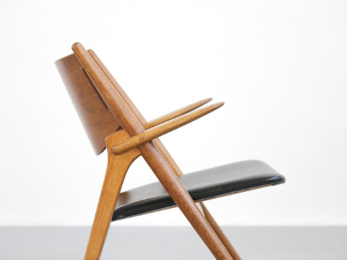 Fauteuil Hans Wegner the sawbuck chair CH28 6