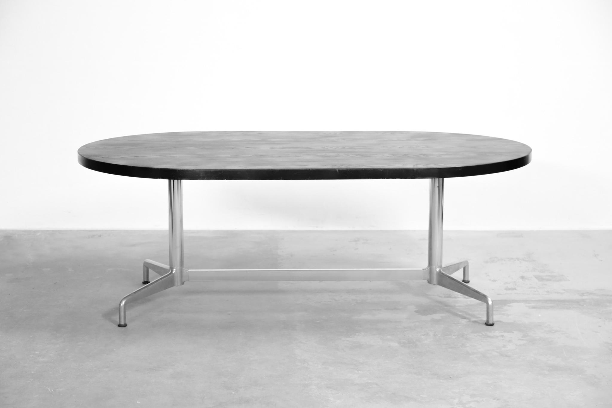 grande table manger giancarlo piretti vintage italienne danke galerie. Black Bedroom Furniture Sets. Home Design Ideas