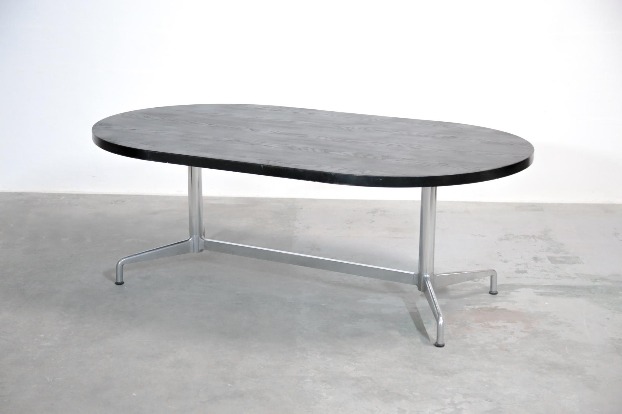 Grande Table Manger Giancarlo Piretti Vintage Italienne Danke Galerie
