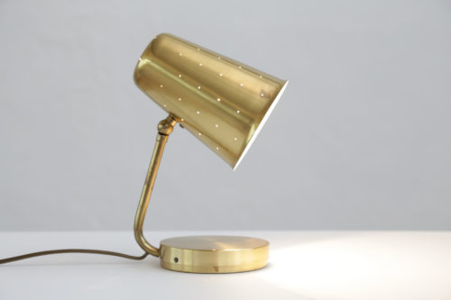 Petite lampe de bureau danoise vintage paavo tynell