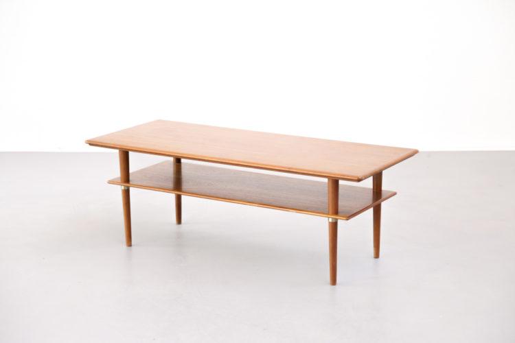 Table basse scandinave danoise vintage design2