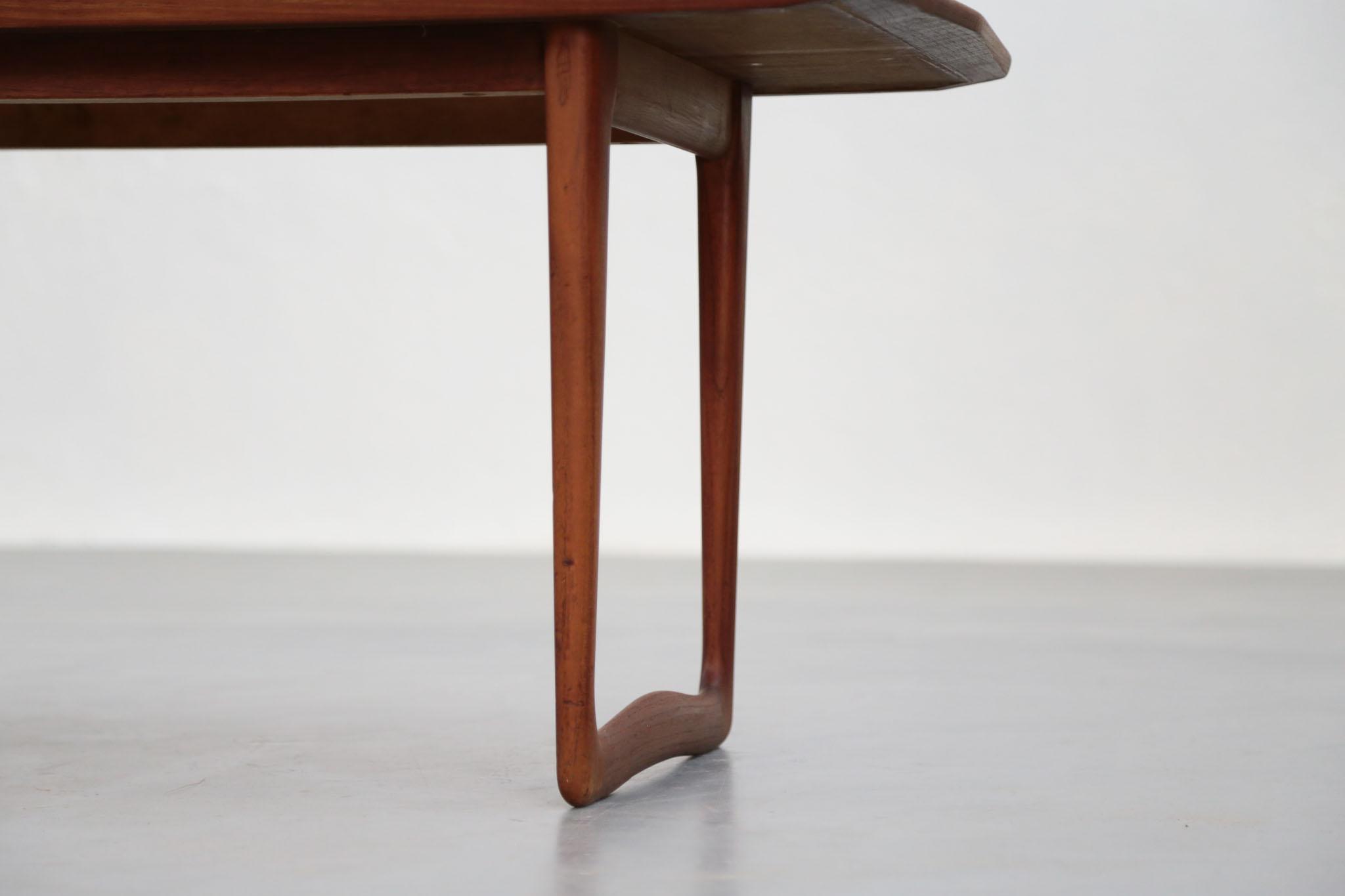 Table Basse Scandinave En Teck Danoise Danke Galerie