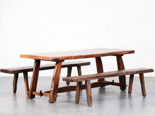 Table et banc Olavi Hanninen finland bench dining table18