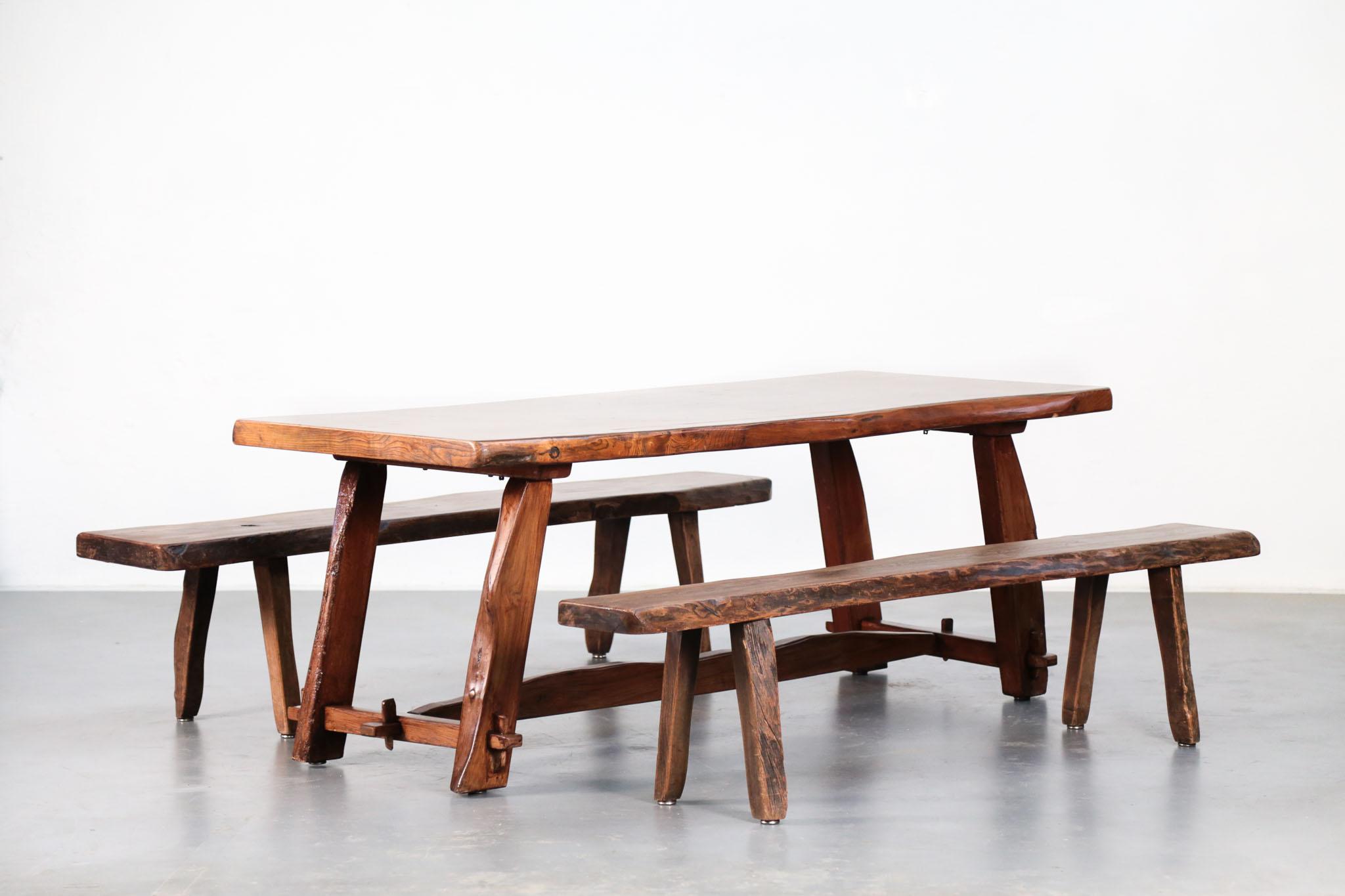table et banc olavi hanninen buffet mikko nupponen danke. Black Bedroom Furniture Sets. Home Design Ideas