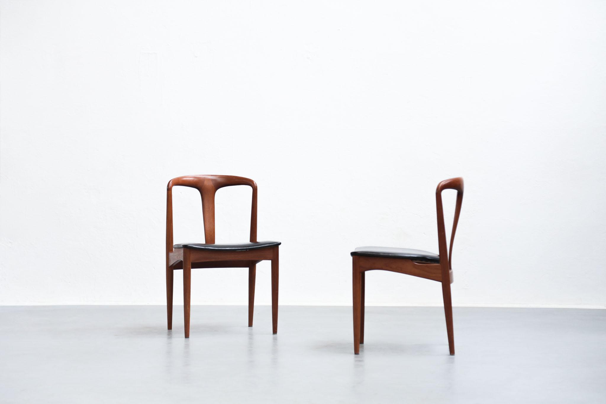 Chaise Danoise Design & Suite De 6 Chaises Danoises En Palissandre