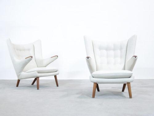fauteuil Hans Wegner Papa Bear armchair scandinave (2)