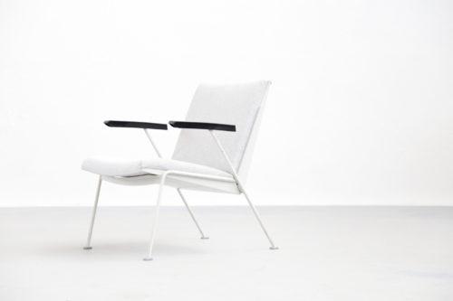 fauteuil Wim Rietveld ''Oase'' Chair for Ahrend de Cirkel 1959, Netherlands design vintage 00008