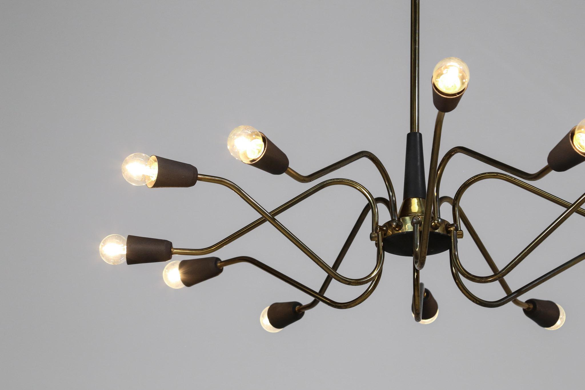 lustre italien dlg stilnovo design danke galerie. Black Bedroom Furniture Sets. Home Design Ideas