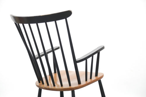 rocking chair tapiovaara fanett années 60 19