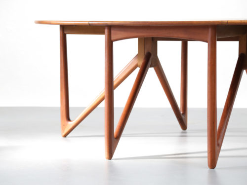 table à manger Kurt Østervig dining danoise scandinave