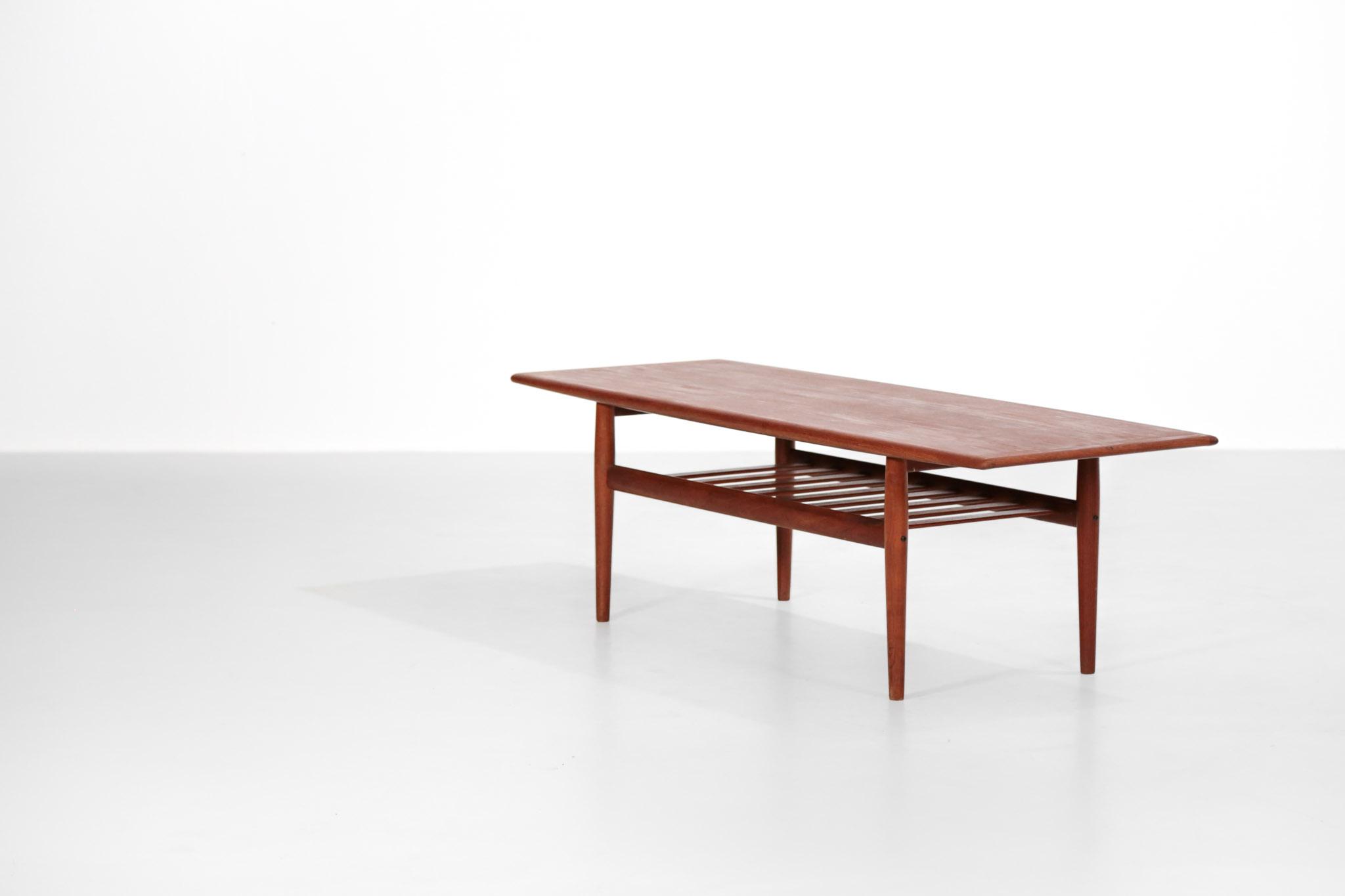 Grande Table Basse Danoise Grete Jalk Danke Galerie