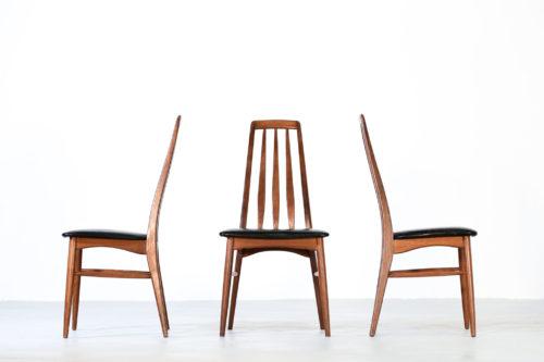 6 chaises lise Koefoed Larsen danoise scandinave
