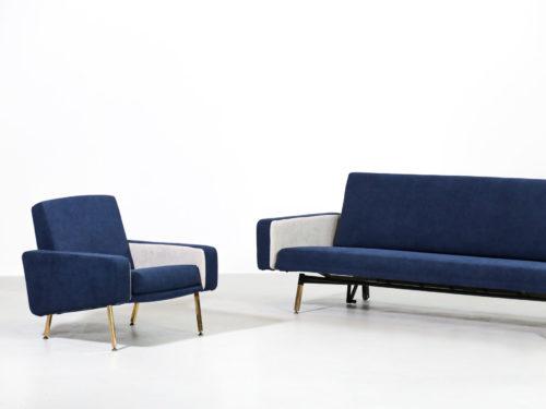paire de fauteuil pierre Guariche des années 60 24