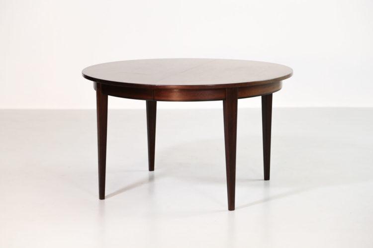 table a manger danoise en palissandre
