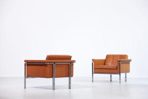 Paire de fauteuil par Horst Brüning pour Alfred Kill International