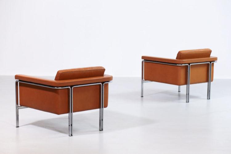 Paire de fauteuil par Horst Brüning pour Alfred Kill International26
