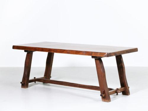 Table a manger Olavi Hanninen en orme massif 1960 30