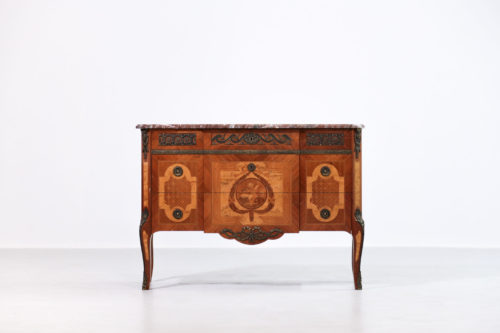 ommode En Marqueterie de style Louis XV Louis XVI17