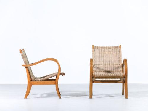paire de fauteuil style erich dieckmann19