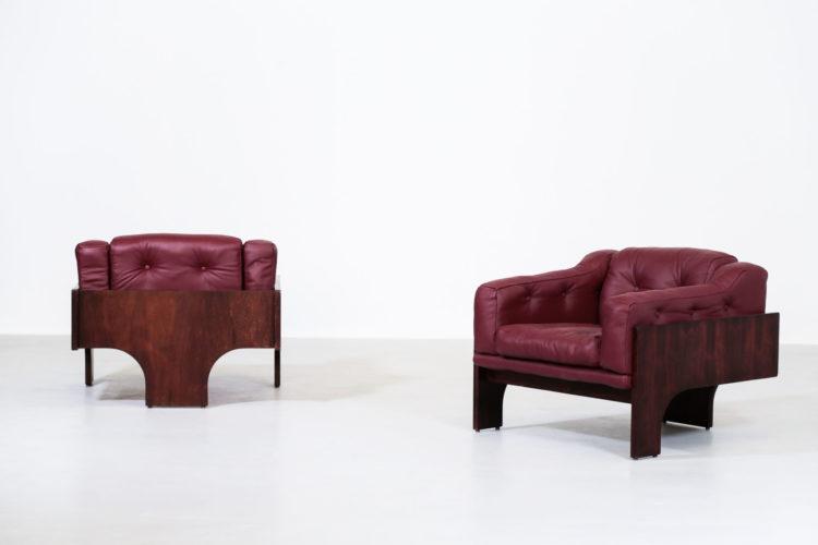 paire de fauteuil Oriolo par Claudio Salocchi pour Sormani9