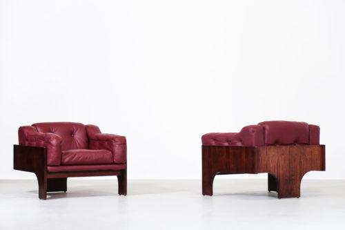 paire de fauteuil Oriolo par Claudio Salocchi pour Sormani20