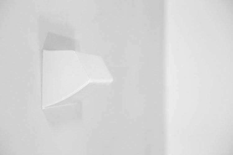 Suite de 4 appliques holophane en verre années 60