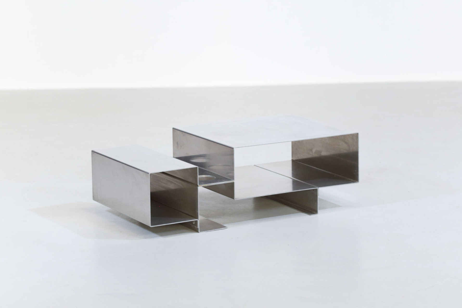 Table basse années 70 style michel boyer pergay17