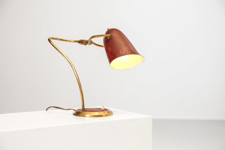 Lampe de bureau italienne des années 50 26