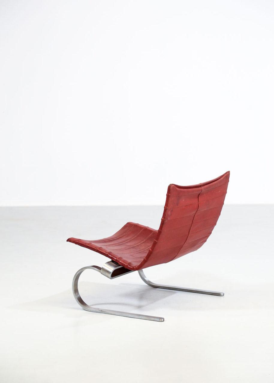 PK20 Poul Kjaerholm chauffeuse danois design scandinavian danke galerie