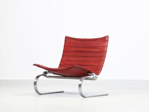 PK20 Poul Kjaerholm fauteuil chauffeuse danois scandinave design 53