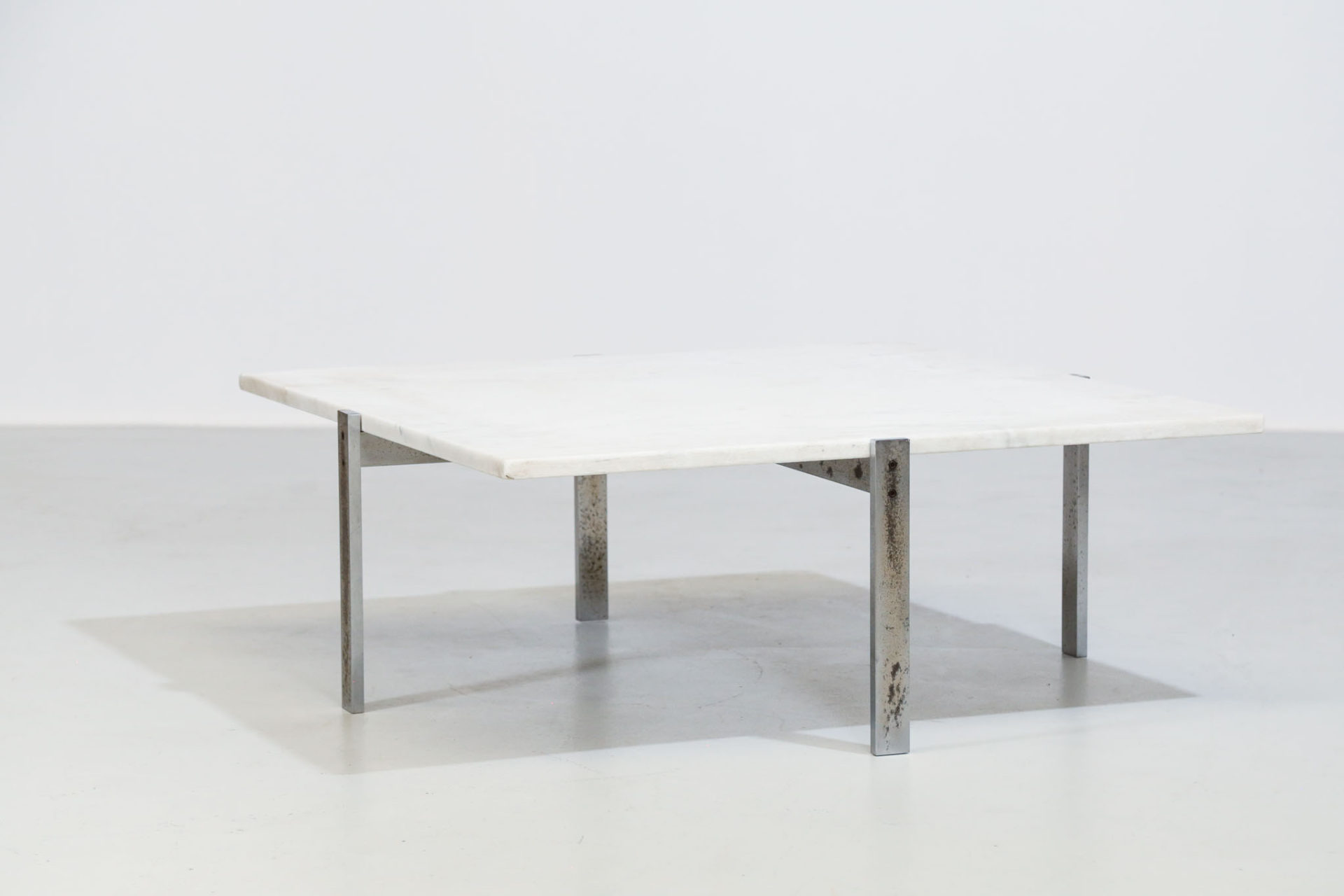 Table basse PK65 Poul Kjaerholm danois scandinave design 35