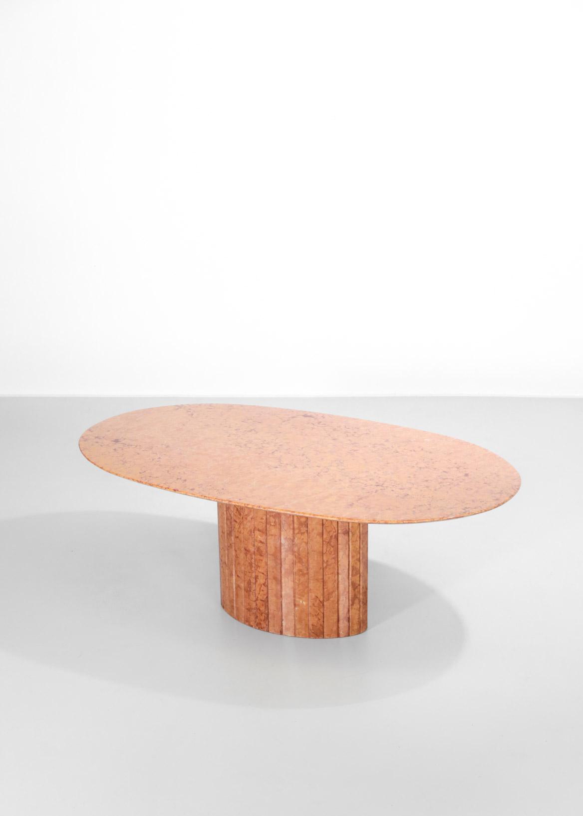 Table A Manger En Marbre Rouge De Veronne Design Danke Galerie