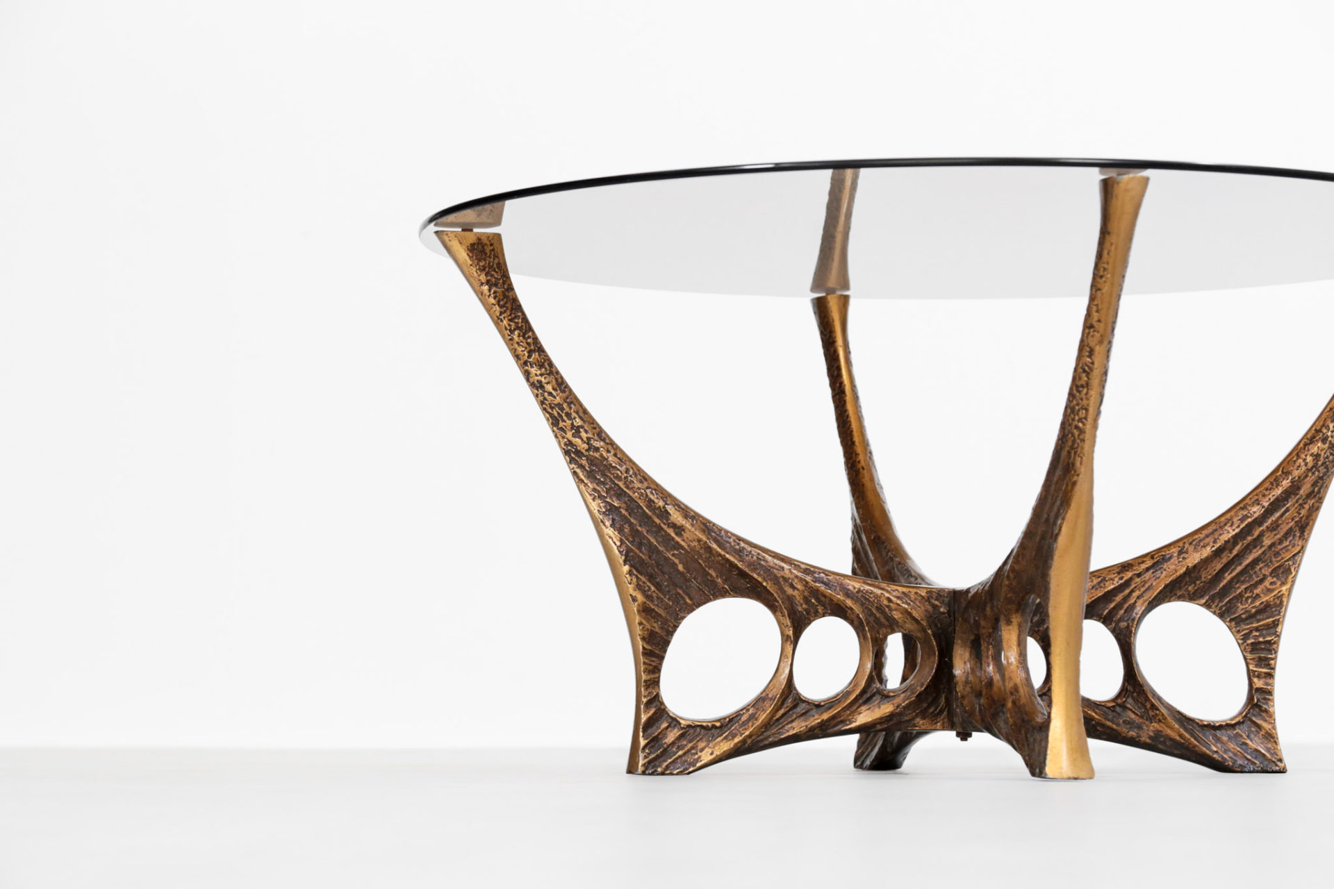 table basse willy ceysens belge design années 60 1960
