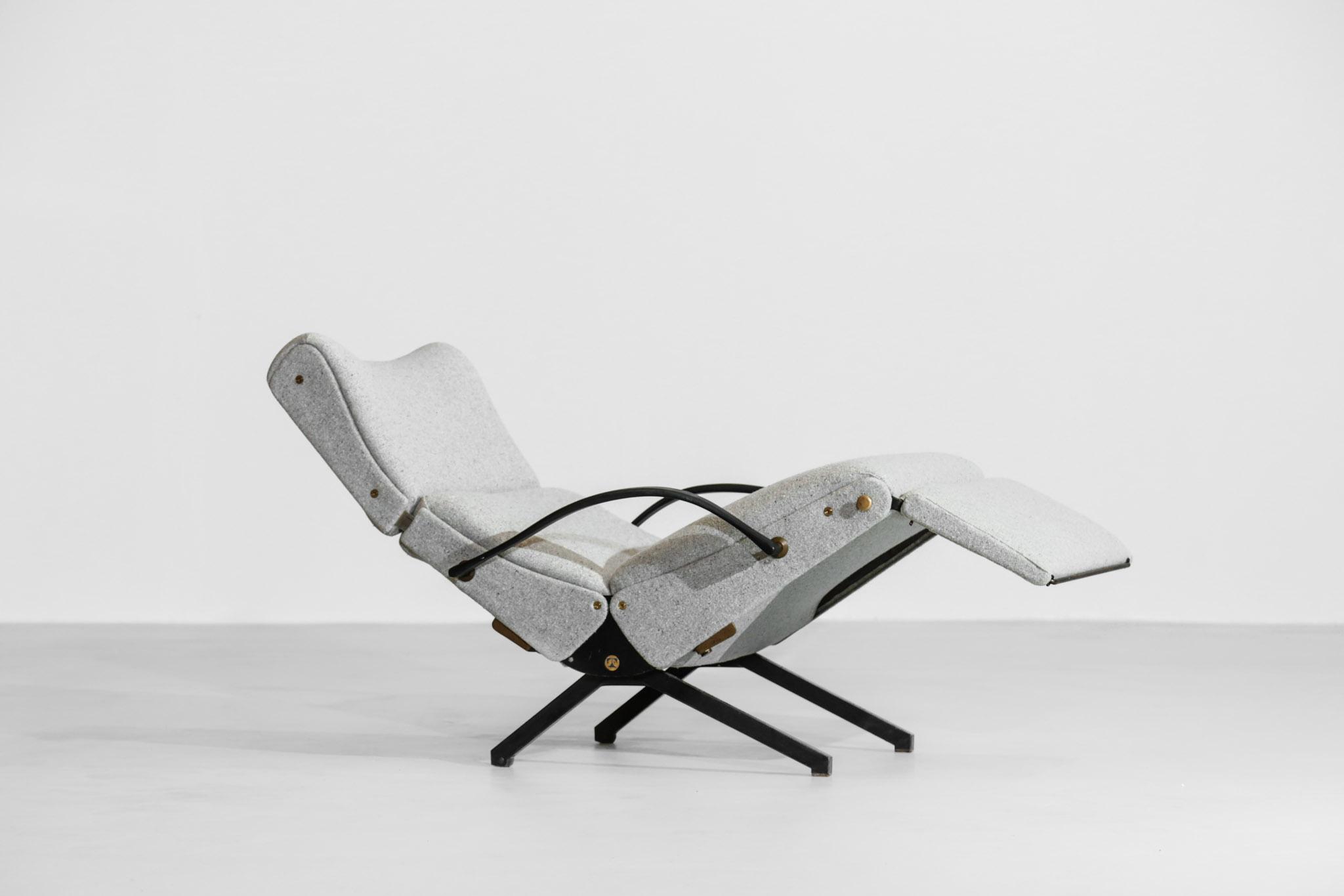 Fauteuil P40 Par Osvaldo Borsani Pour Tecno Design Italien Danke