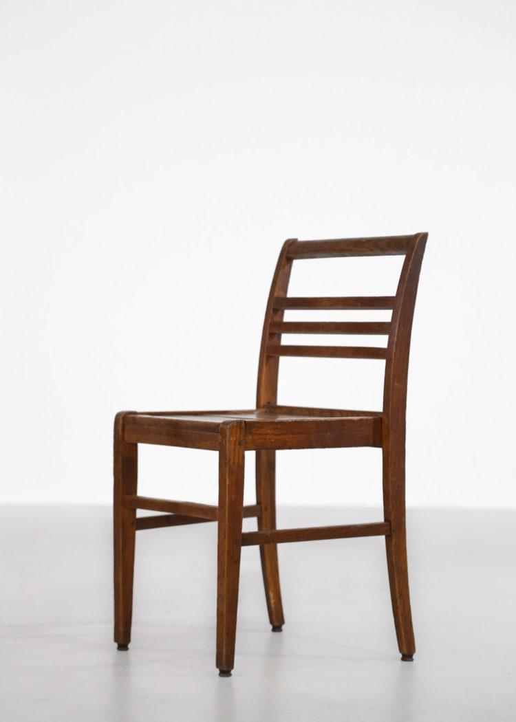 8 chaises reconstruction rené gabriel vintage alain richard gascoin 1