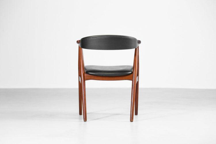 fauteuil de bureau vintage danois scandinave teck 27