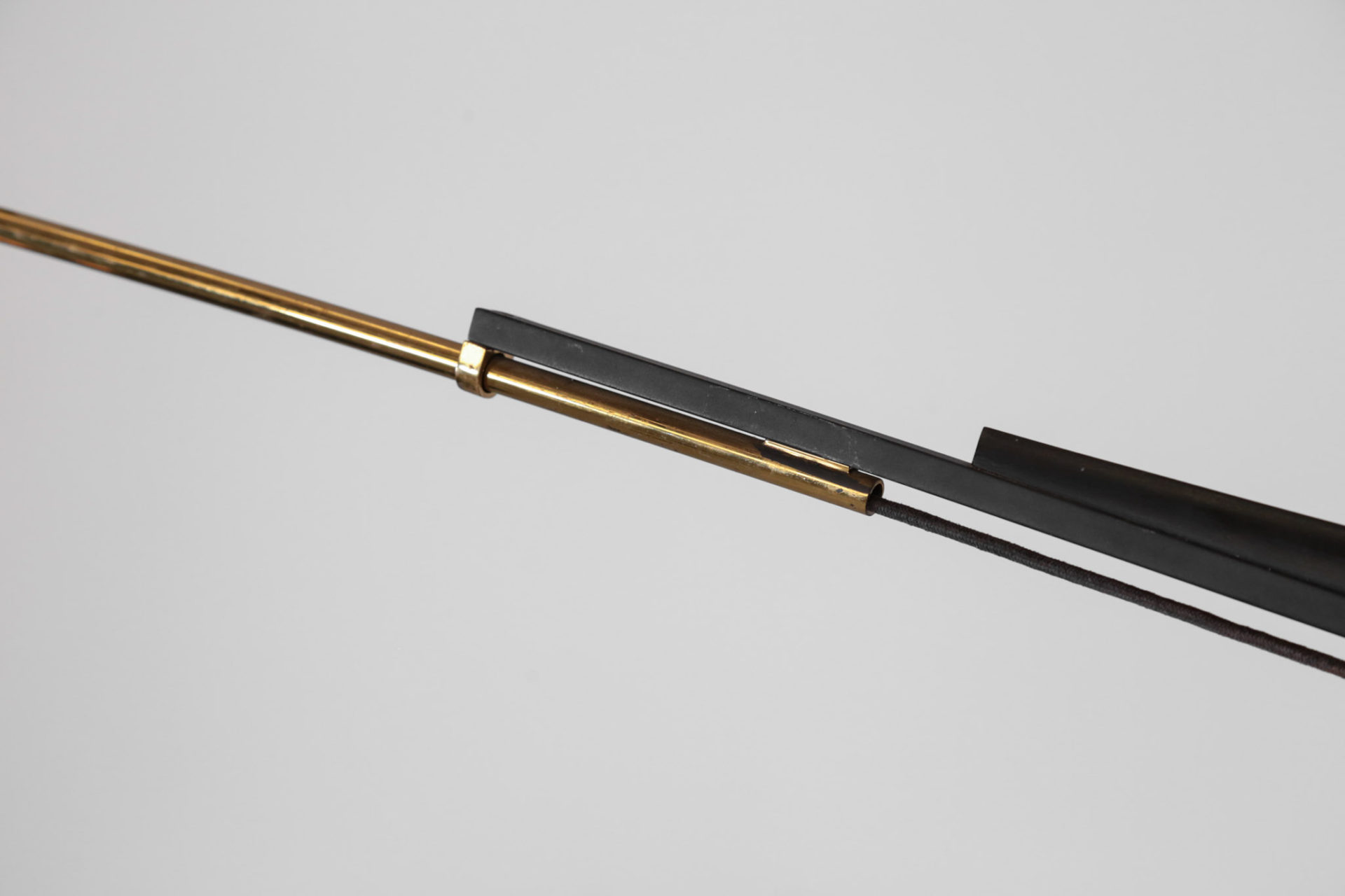 grande applique potence gino sarfatti arlus arredoluce vintage design 3