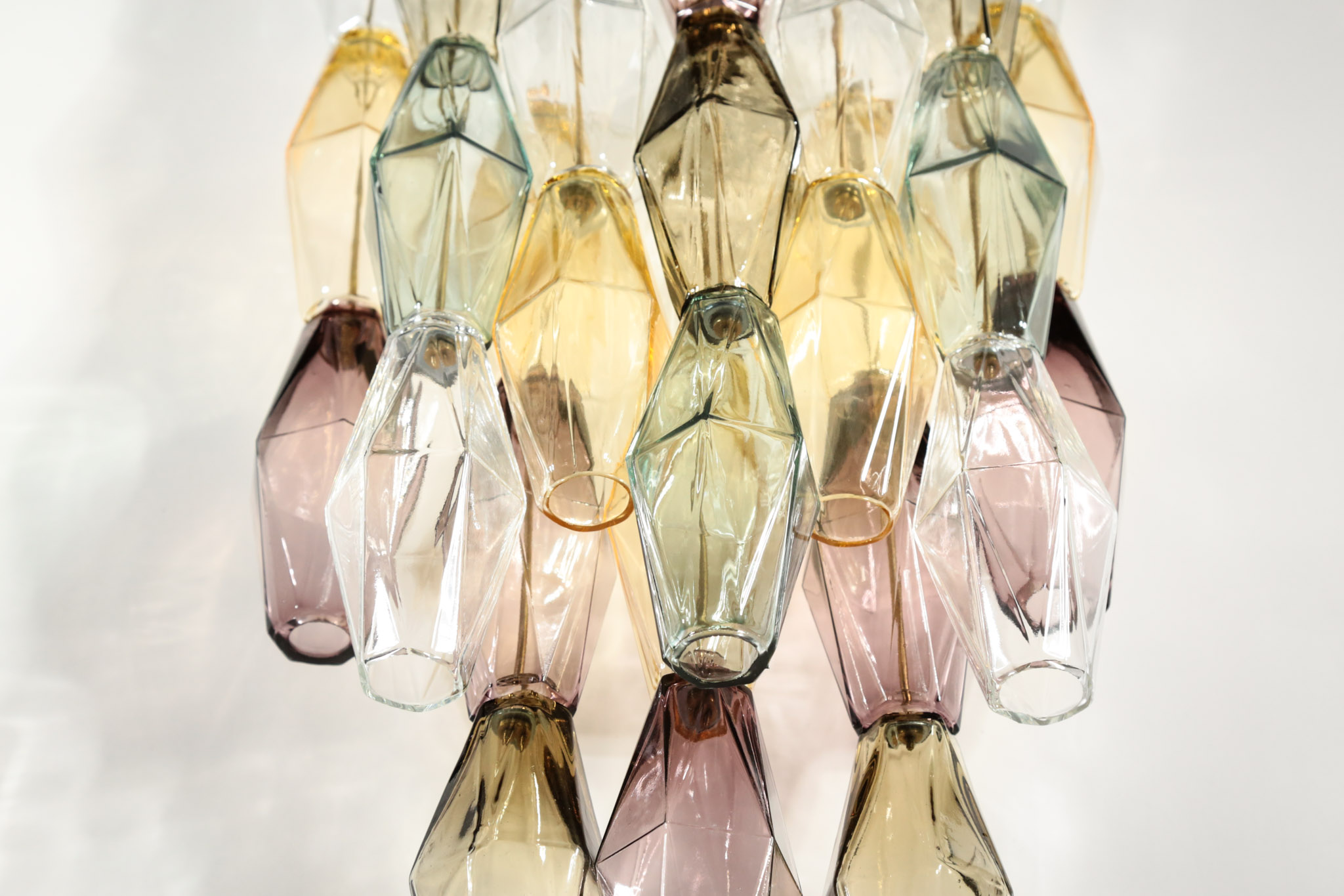 Large italian wall light polyhedral murano glass u2013 danke galerie