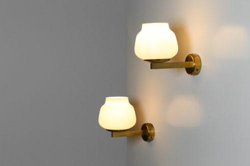 3 appliques suedoise design vintage scandinave opaline30