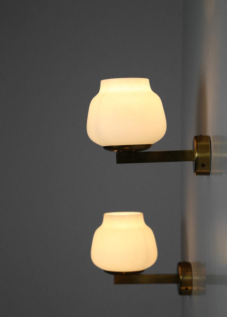 3 appliques suedoise design vintage scandinave opaline33