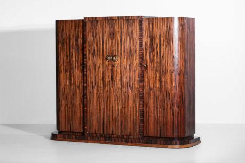 Armoire art deco palissandre ebene macassar vintage design41