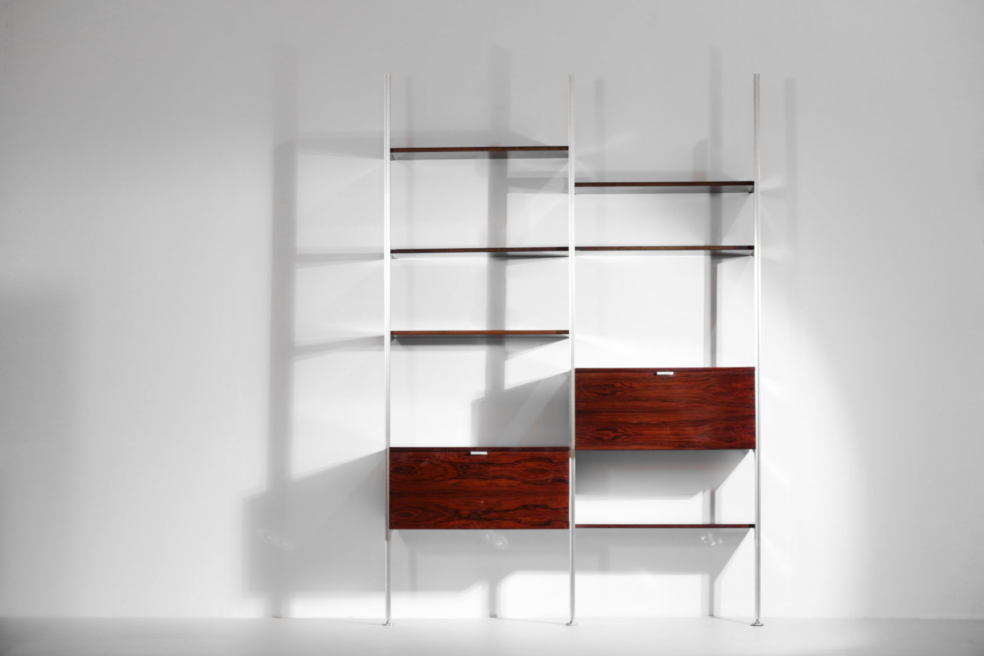 Bibliotheque george nelson vintage design americain bookcase
