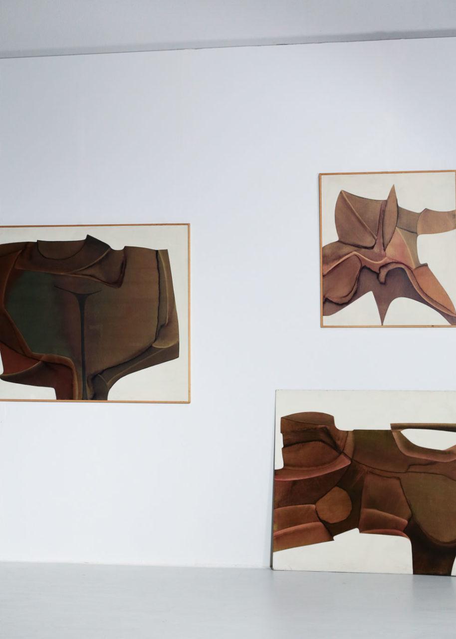 Guy Dessauges danke galerie huile sur panneau exposition147