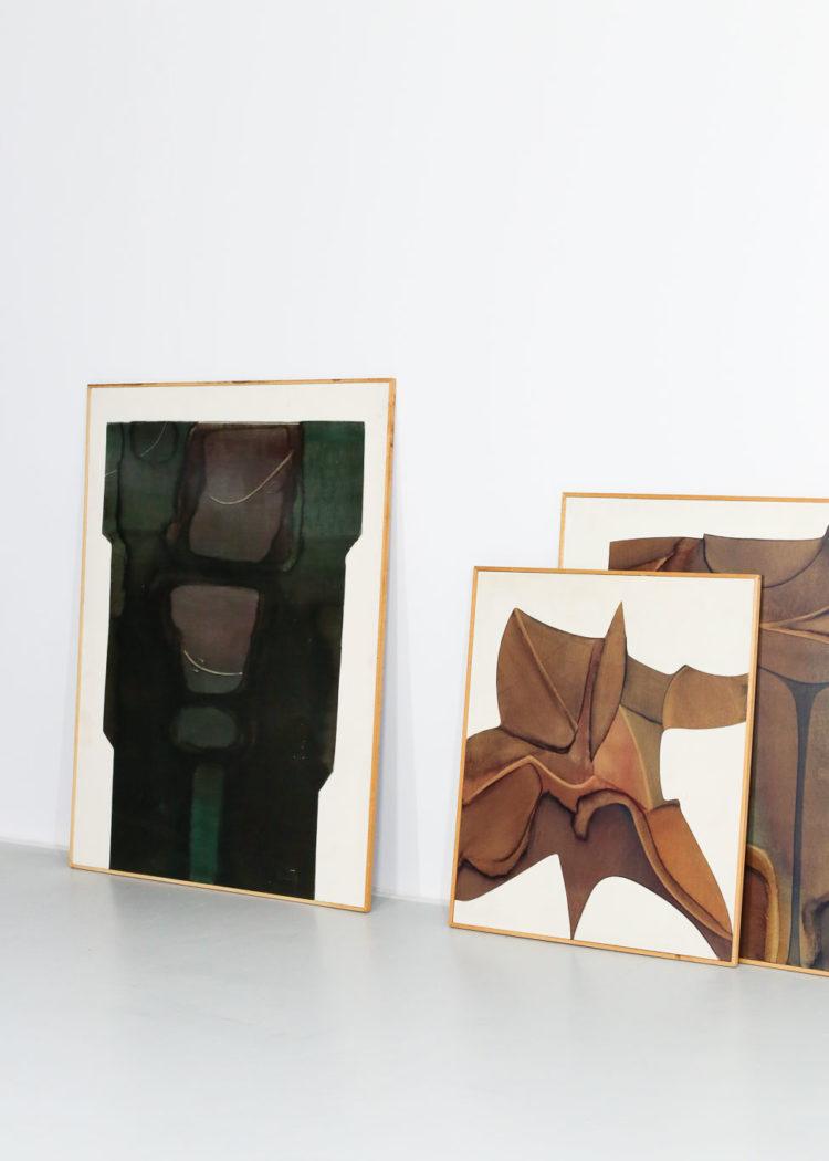 Guy Dessauges danke galerie huile sur panneau exposition24