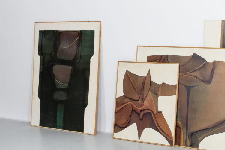Guy Dessauges danke galerie huile sur panneau exposition112