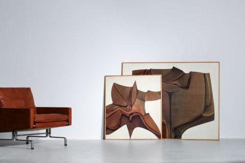 Guy Dessauges danke galerie huile sur panneau exposition